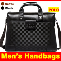 Men Leather Bag shoulder leather men travel bags for men 's handbags New 2014 Free Shiping