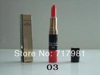 Free shipping wholesale makeup CC Lipstick + Lip Gloss 2IN1( 12pcs/lot)
