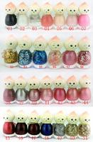 Free shipping 10pcs/lot  Bk Juicy peach nail polish drying oil naked 7 ml cosmetics nail polish 57 color multi-color optional