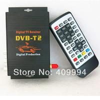 120KM/H DVB-T2 1080P DH DVB T2 Car TV Tuner MPEG-2MP @HL/MPEG-4/H.264@L4.1,AVC/ MHEG-5 HDMI CVBS S-VIDEO, Free Shipping