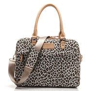 Newest Fashion women Canvas Leopard  Computer Shoulder Bag Laptop Messenger Carrying Case bag  13 14 15 inch