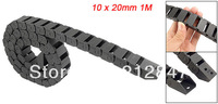10 x 20mm 1M Open On Both Side Plastic Towline Cable Drag Chain