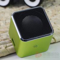 Mini speaker mobile phone computer subwoofer audio pluggable usb flash drive ram card portable mp3 insert card speaker
