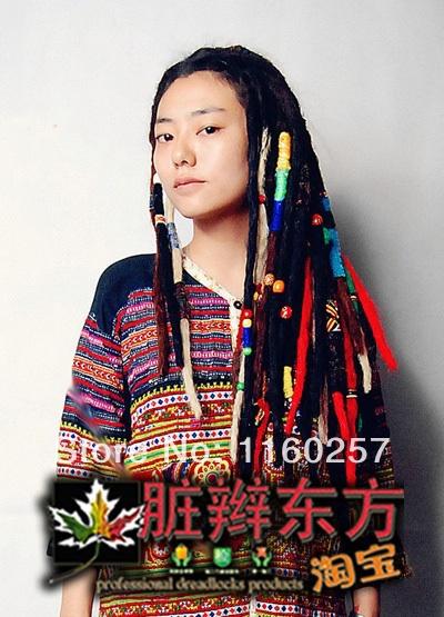 Chinese Rastafarian extension rasta dreadlock