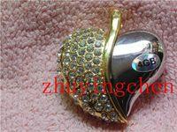 Genuine Capacity USB Flash Drive Heart Pen Driver Gift USB Flash Disk Jewelry USB flash drive 4gb 8gb 16gb 32gb 2g 64g gifts box