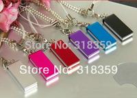 Wholesale custom Mini USB Flash Drive100Pcs/lot  Mini U disk 1GB/2GB/4GB/8GB/16GB/32GB  Free shipping