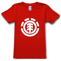 2015 new brand famous Skateboard element band summer t-shirt cotton print t shirt man tops tees cotton casual short sleeve