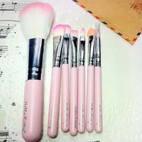 2014 Cute Hello Kitty Makeup Brush 7 in 1 (1 set= 7pcs) Women Makeup Brush Free Shipping