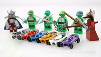 Hot 6 Sets Minifigures Teenage Mutant Ninjago Ninja Turtles Toys Souptoys