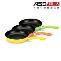 Free shipping Frying pan flat bottom pot buzhanguo g8226e omelette pan electromagnetic furnace general 26cm