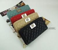 For 2014 fashion plaid long design wallet fashion wallet female