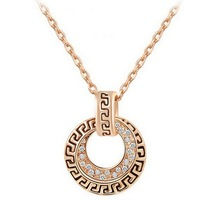 Real Gold Plated Necklace For Women