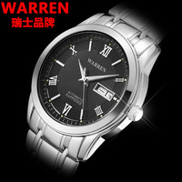 Free shipping Watch fully-automatic mechanical watch male stainless steel commercial calendar luminous mens watch waterproof