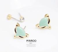 Lo yin Personalized stud earring stud earring stud earring fashion earring female accessories