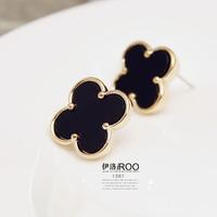 Lo yin Personalized stud earring stud earring fashion earring female accessories