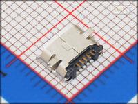 Samples (10Pcs/lot) 5 Pins Micro USB SMD Female USB PCB Connector Socket, USB Jack Plug, Free shipping