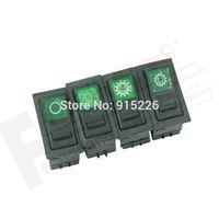 Factory Direct 3 Pins Auto Rocker Power Switch for Heavy Truck (10PCS/Lot) 12V/24V