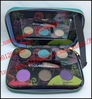 2014 New - 1 pcs fun 6 colors eyeshadow + lipgloss palette makeup! happy-shopping