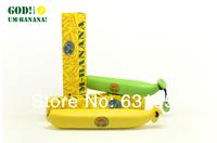 New 2014 Sun Rain Parasols Umbrella Novelty Items Banana Umbrella Um-banana  three fold Umbrellas For Women Men Free Shipping