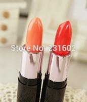 2 pcs/set  BOB makeup carrot tomato genuine moisturizing lip balm stick moisturizing nude