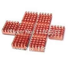 8pcs lot Pure Copper Heat Sinks For Raspberry Pi 512M Model B Computer