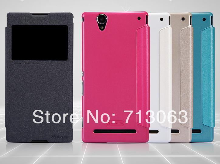 Чехол для для мобильных телефонов For Nillkin 50pcs/lot Nillkin SONY Xperia T2 XM50h защитная пленка для мобильных телефонов 2 0 3 2 5 d sony xperia t2 xm50h