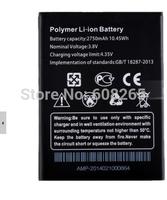100% original THL T100S T11 battery 2750MHA THL T100S rechangeable battery for T100 T11 smartphone freeshipping