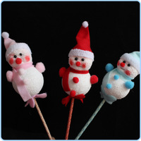 Free shipping Christmas christmas stick foam snowman christmas decoration christmas tree