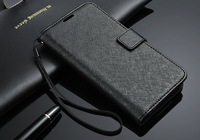 Free shipping wallet real leather case For Samsung Galaxy SV S5 I9600 with card holder leather case for i9600 mutil wallet pouch