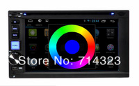 7 inch Android 4.2 Car DVD player GPS Navigation audio Radio stereo video Bluetooth Capacitive touch screen Universal 2 two din