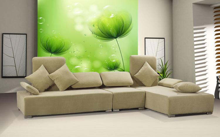 غرفة كبيرة فان الفن خلفية جدارية خلفية جدارية خلفية التلفزيون بسيطة وأنيقة(China (Mainland))