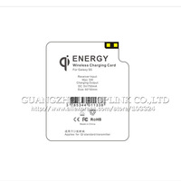 Hotsale 100% Guaranteed for Samsung for Galaxy S5 Qi Wireless Charger Receiver i9600 Charging Card Coil free shipping