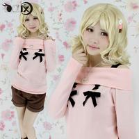 Diabolik Lovers Komori Yui Cosplay costume senderos cos uniforms sweater coat+pant