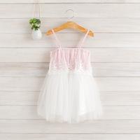 2014 New,girls summer slip dress,embroidery,pink/yellow/blue,2-8 yrs,5 pcs / lot,wholesale,1094