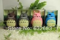 1pcs new Cute 3D My Neighbor Totoro Silicone Skin Case for i5 5S Hayao Miyazaki Cartoon Figure Totoro Case