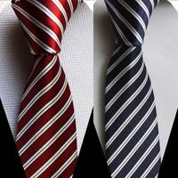 5cm width tie unique Slender necktie diagonal stripes 2 colors for choose