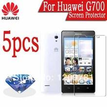 Free Shipping,5pcs Sparkling Diamond Huawei G700 Screen Protector.Flashing Screen Protective Film,Huawei G700 Guard Cover Film