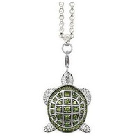 free shipping hot selling hot necklace ts silver factory price TA0099 The turtle necklace
