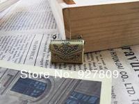 Free Shipping 10pcs 15*22mm  Ancient bronze Alloy  drawing  Small Envelope