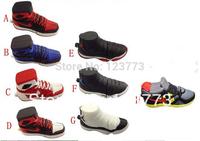 New cartoon shoes model usb 2.0 memory stick flash drive pen drive gift 4-32GB usb thumb pendrive free shipping ( QX )