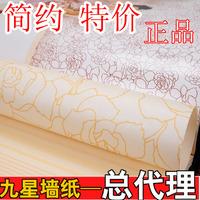 Non-woven wallpaper fashion brief sofa tv background wall wallpaper
