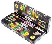 Free Shipping 100 sets Loom Bands set Fun Loom Rubber Kit DIY Bracelets Colorful Children Toy Gift For Charm Bracelet Bangle