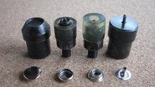Press Snap Fastener Button Die Mold for Hand Press Machine Setter 4 Part Die(China (Mainland))