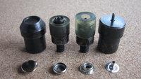 Press Snap Fastener Button Die Mold for Hand Press Machine Setter 4 Part Die