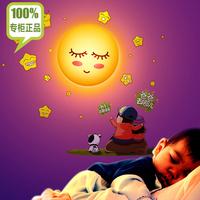 FREE SHIPPING Wall Sticker Wall Lamp 3D Wall Night Light LED Light Children Room Decoration Wall Lamp AU/EU/US/UK Plug