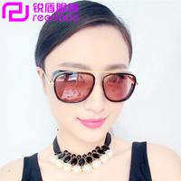 2014 fashion personalized sunglasses large colorful film vampish sunglasses comfortable gorgeous women's sunglasses sun-shading