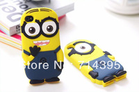 Obe eyes Despicable Me  3D Silicone phone case for iphone 4G