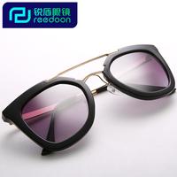2014 women's fashion big frame sunglasses sun glasses anti-uv sunglasses star style