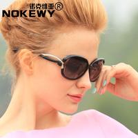 Polarized sunglasses sunglasses women's big box bow fashion sun glasses