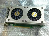 Asl gts250 512m 256bit graphics card double fan copper heat pipe